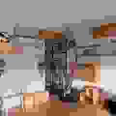 nionohama-apartment-house-renovation ラスティックデザインの リビング の ALTS DESIGN OFFICE ラスティック 木 木目調