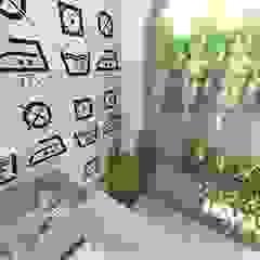 Lavanderia - FB Paredes e pisos minimalistas por Grafite - Arquitetura e Interiores Minimalista
