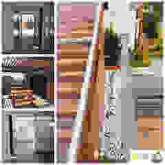 by INblatt _Arquitectura Rustic Solid Wood Multicolored