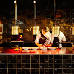 Tegels voor The Roastroom Moderne gastronomie van Harlinger Aardewerk en Tegelfabriek Modern