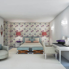 FEMMA Interior Design Modern style bedroom