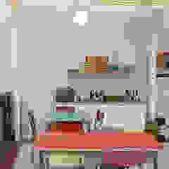 La Cresceria_Bar & fast food CHIARA MARCHIONNI ARCHITECT Bar & Club in stile eclettico