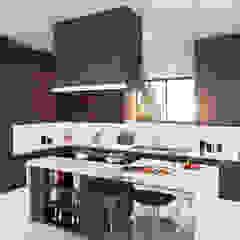 Diseño de cocina. Cocinas de estilo moderno de HZH Arquitectura & Diseño Moderno