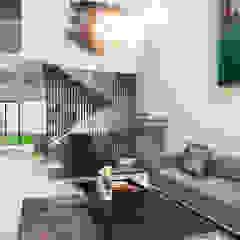 Diseño de sala recibidor. Livings de estilo moderno de HZH Arquitectura & Diseño Moderno