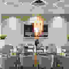Área de comedor. Comedores de estilo moderno de HZH Arquitectura & Diseño Moderno