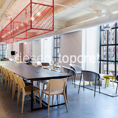 Topcret Industrial style study/office Grey