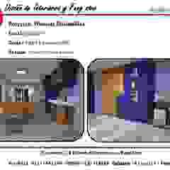 Vivienda Unifamiliar Garajes rústicos de CF Diseño de interiores y Feng Shui Rústico Derivados de madera Transparente