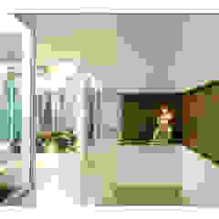 Casa de Campo Corredores, halls e escadas campestres por Luciana Savassi Guimarães arquitetura&interiores Campestre
