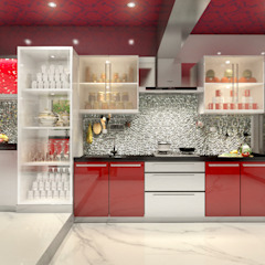 Classic style kitchen by AAMRAPALI BHOGLE Classic Glass