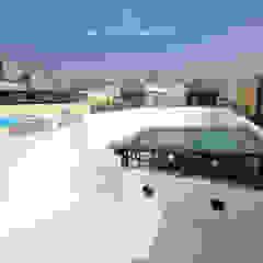Hiên, sân thượng phong cách công nghiệp bởi 協億室內設計有限公司 Công nghiệp