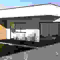 MORADIA UNIFAMILIAR @ BEDUIDO, AVR Iates e jatos modernos por P&H - Arquitectos Moderno