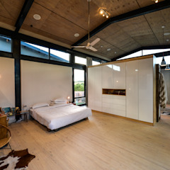 Quartos industriais por Studious Architects Industrial