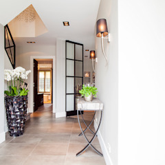 Country style corridor, hallway& stairs by Wood Creations Country