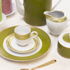 Olivia Porcel - Indústria Portuguesa de Porcelanas, S.A. Dining roomCrockery & glassware Porcelain Green