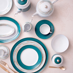 Louise Porcel - Indústria Portuguesa de Porcelanas, S.A. Dining roomCrockery & glassware Porcelain Blue