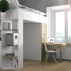 Scandinavian style study/office by Ёрумдизайн Scandinavian MDF