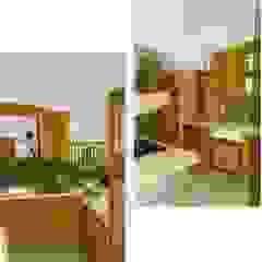 CASA Santa Barbara Country style kitchen Wood