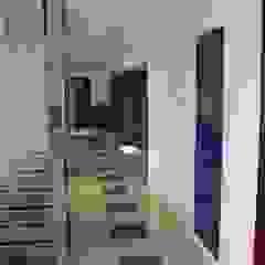 bdlconceptstudio Couloir, entrée, escaliers modernes
