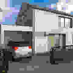 Dick van Aken Architectuur Maisons modernes Bois Effet bois