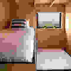 Modern Dining Room by B+V Arquitectos Modern Wood Wood effect