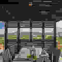Modern Terrace by B+V Arquitectos Modern Wood Wood effect