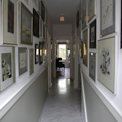 راهرو سبک کلاسیک، راهرو و پله من Robbert Lagerweij Interior Design كلاسيكي رخام