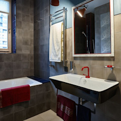 Eclectic style bathrooms by Вира-АртСтрой Eclectic