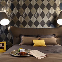 Eclectic style bedroom by Вира-АртСтрой Eclectic
