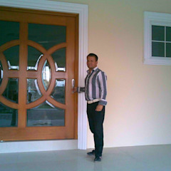 من SG Huerta Arquitecto Cancun كلاسيكي خشب Wood effect