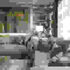 living room+dining من m.frahat حداثي
