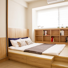 Scandinavian style nursery/kids room by 双設計建築室內總研所 Scandinavian
