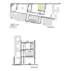 Casa Bernal Anexos de estilo minimalista de POMAC Arquitectos Minimalista