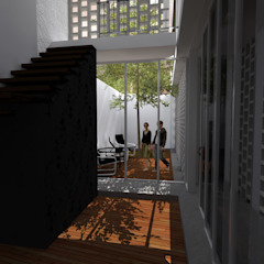 Casa Bernal de POMAC Arquitectos Minimalista