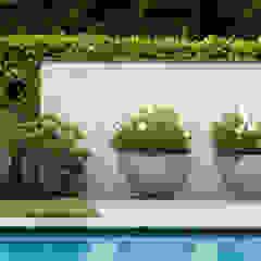Luxe tuin met zwembad Moderne zwembaden van Jaap Sterk Hoveniers Modern