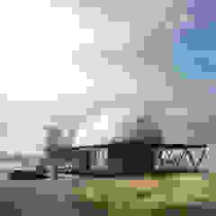 B+V Arquitectos Minimalist houses