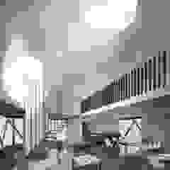 B+V Arquitectos Minimalist living room