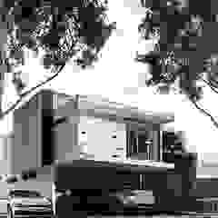 White Arquitectos Ruang Komersial Modern Beton White