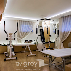 Classic style gym by TiM Grey Interior Design Classic