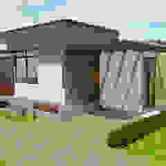 Fachada principal - Garaje Garajes de estilo moderno de Arquitecto Pablo Restrepo Moderno