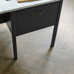 Oak Chevron Parquet by The Natural Wood Floor Company Classic Engineered Wood Transparent