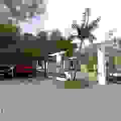 Arq Hernando Fuentes Diseños Minimalist houses Concrete Beige