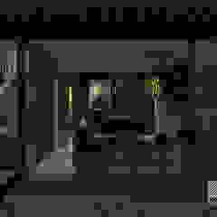 Espacio en Blanco Industrial style living room