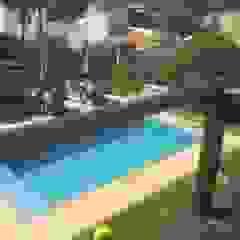 Residência Condados Bouganville2 Piscinas campestres por Monica Guerra Arquitetura e Interiores Campestre