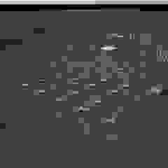 Centros de convenciones de estilo rural de Vitruvius 3D Rural Aluminio/Cinc