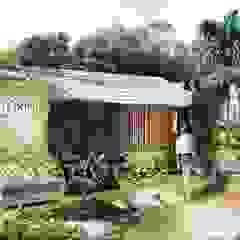 Tropical style houses by SUPERFICIES Estudio de arquitectura y construccion Tropical