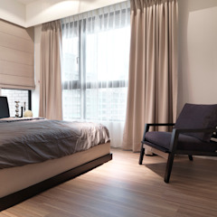 Modern style bedroom by 大集國際室內裝修設計工程有限公司 Modern