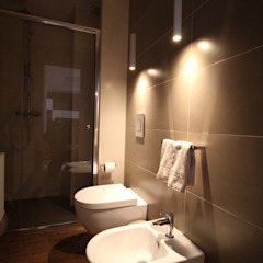 Giuseppe Rappa & Angelo M. Castiglione ห้องน้ำ เซรามิค Beige