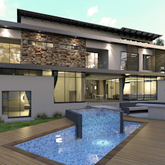 House Eye of Africa Golf & Residential Estate II Modern houses by Metako Projex Modern