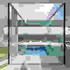 Villa K Minimalistische zwembaden van Architectenbureau Paul de Ruiter Minimalistisch