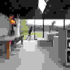 Villa Schoorl Minimalistische eetkamers van Architectenbureau Paul de Ruiter Minimalistisch